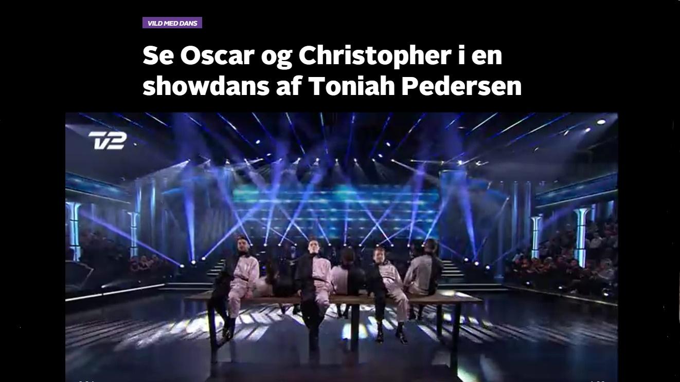 Vild med dans TV2 koreografi Toniah
