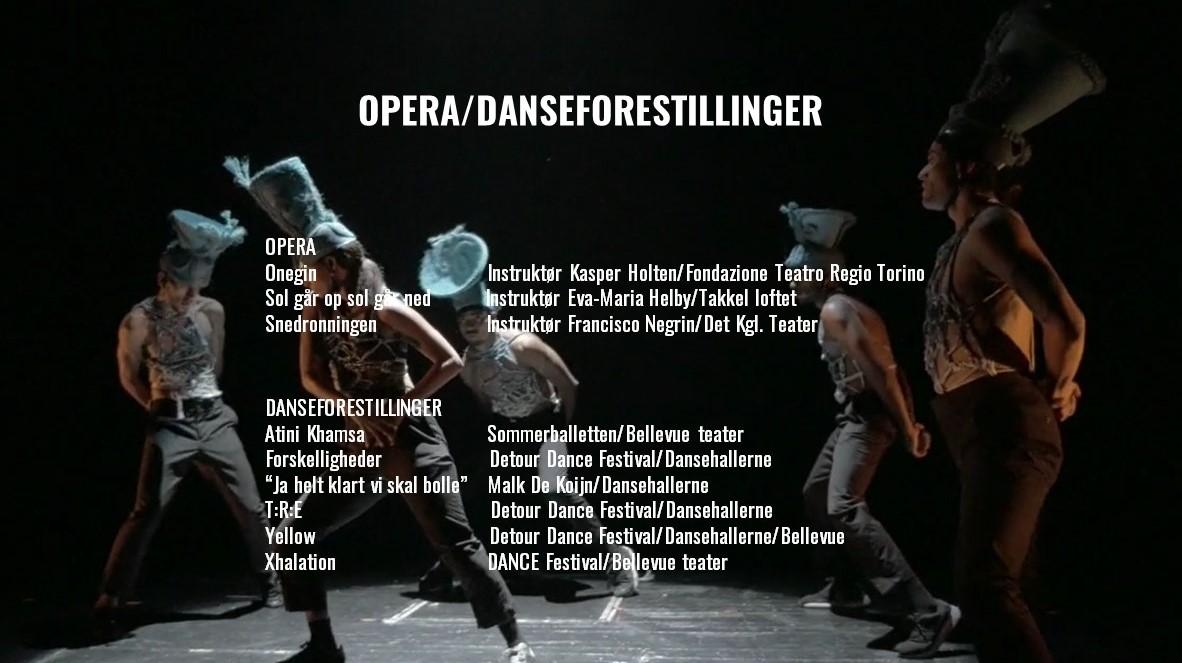 Opera Toniah CV