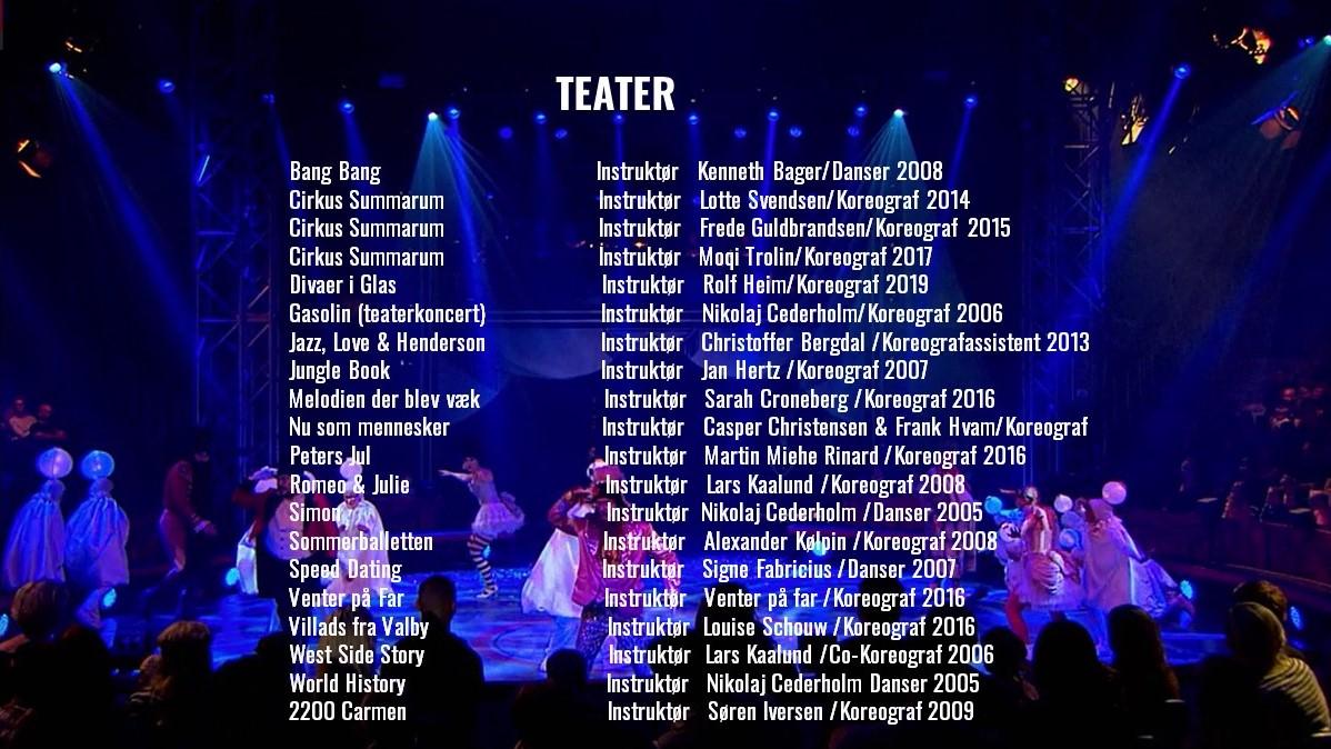 Teater Toniah CV