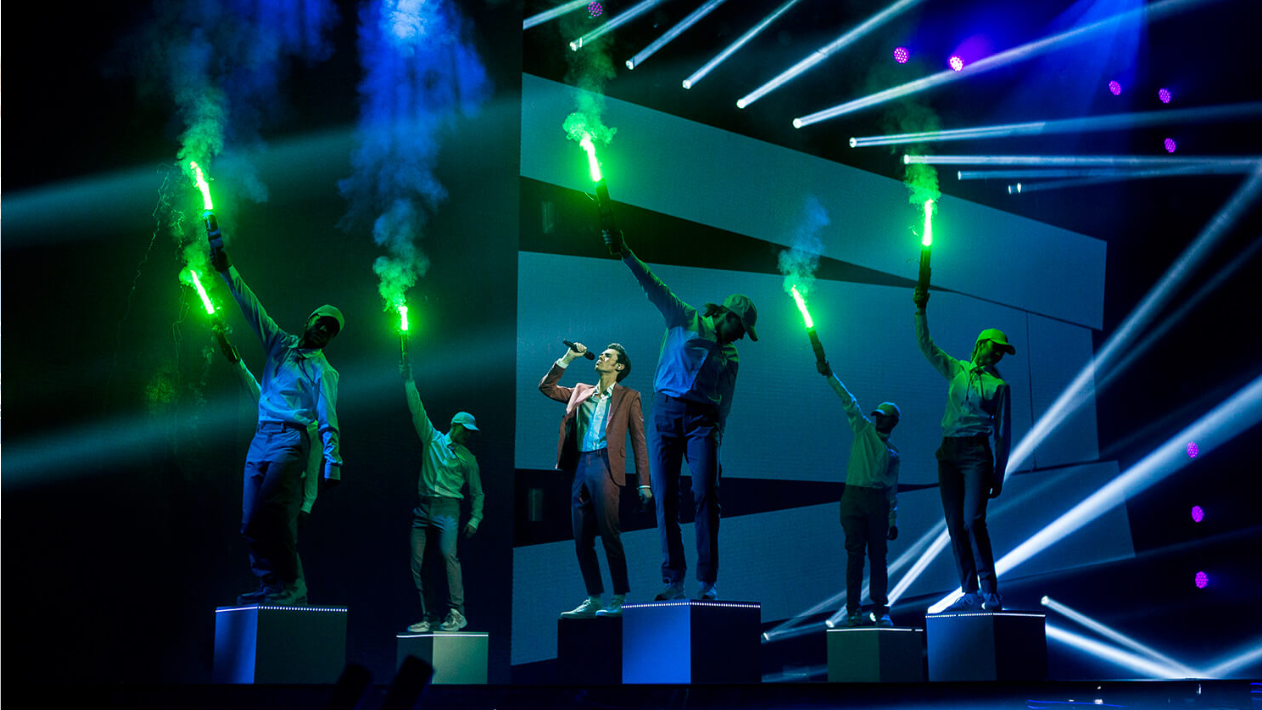 Foto fra TV2 X Factor finale 2019/Framegrab